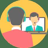 التحدث المباشر مع خدمة العملاء