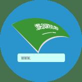 حجز نطاق سعودي