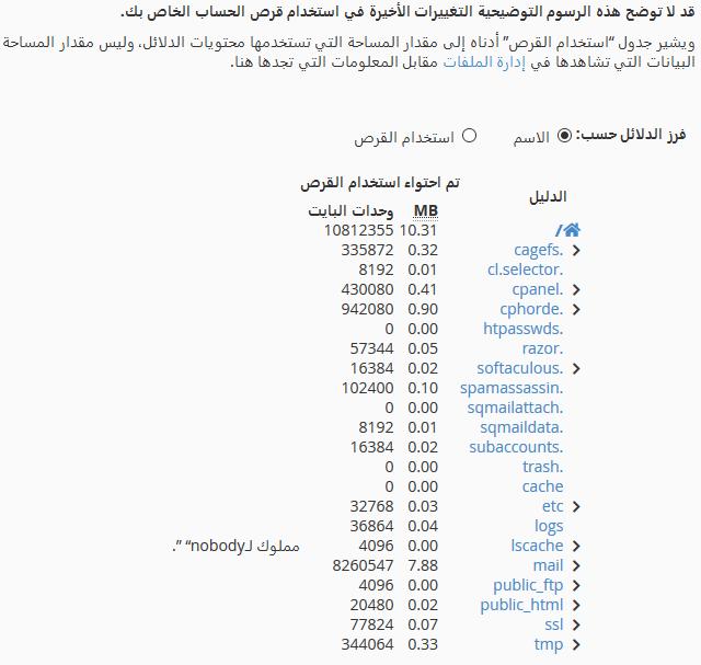 disk usage statistics3