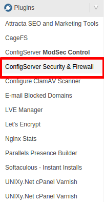 شرح فتح port في Firewall/CSF علي whm