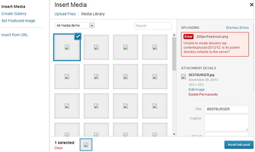 كيفية اصلاح و حل مشكلة تحميل الصور فى الووردبريس