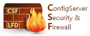 اوامر جدار الحماية CSF المهمة عن طريق SSH