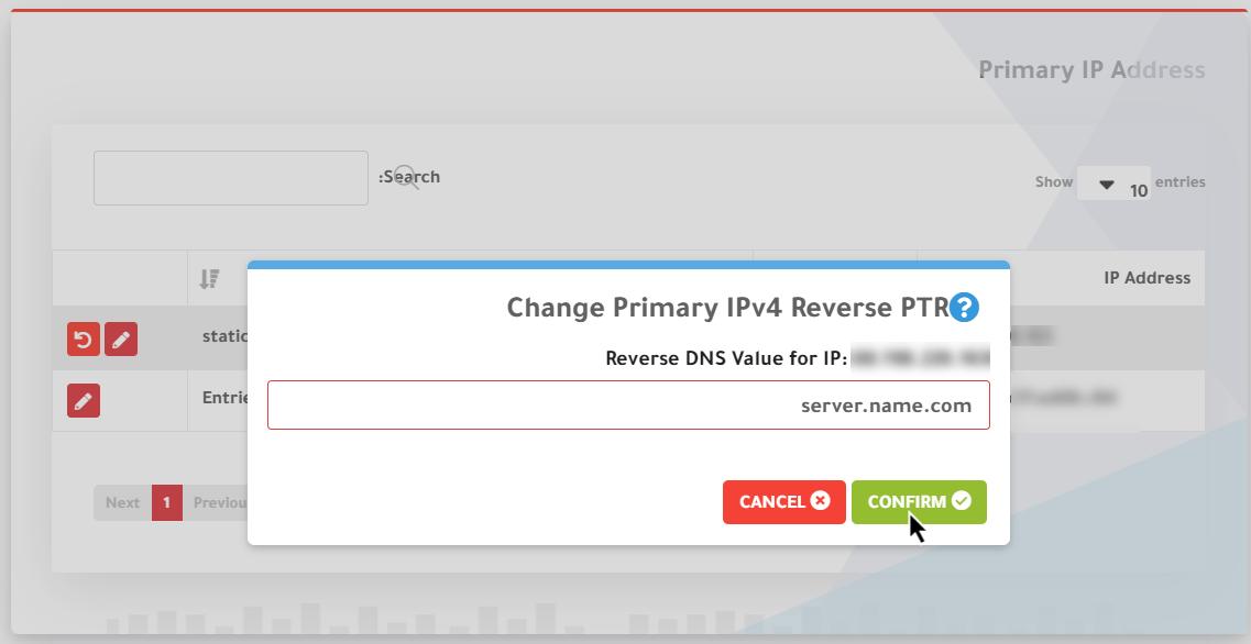 شرح اضافه Reverse DNS في الكلاود سيرفر